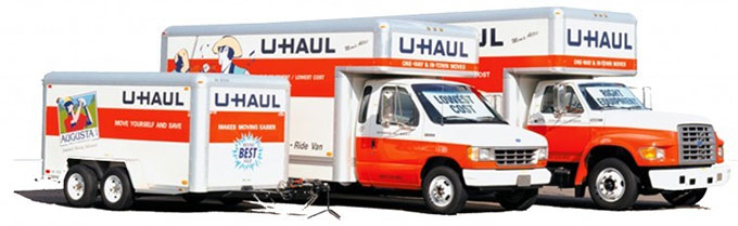 Moving truck rentals in Bucks and Montgomery Counties