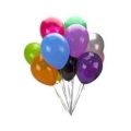 Rental store for BALLOON,  LATEX, HELIUM   DOZEN in Pipersville PA