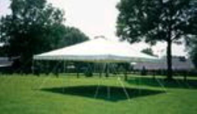 Where to find CANOPY  20 X20   WHITE in Pipersville
