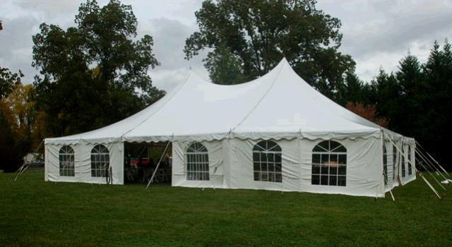 Where to find Pole Tent  professionally installed in Pipersville