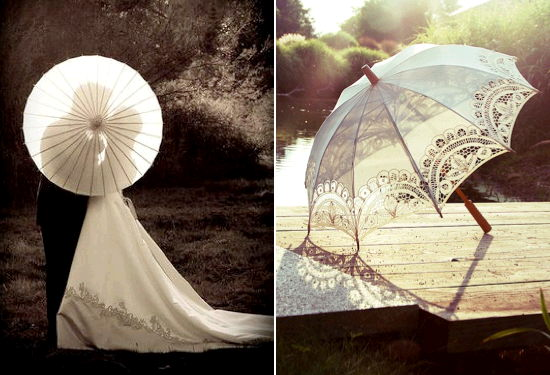 Where to find WEDDING PARASOL in Pipersville