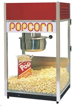 Where to find POPCORN MACHINE in Pipersville