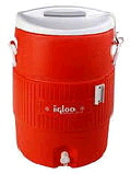 Rental store for IGLOO COOLER  5 GAL -ORANGE in Pipersville PA