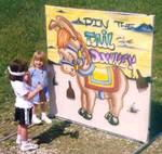 Where to find PIN THE TAIL ON THE DONKEY in Pipersville