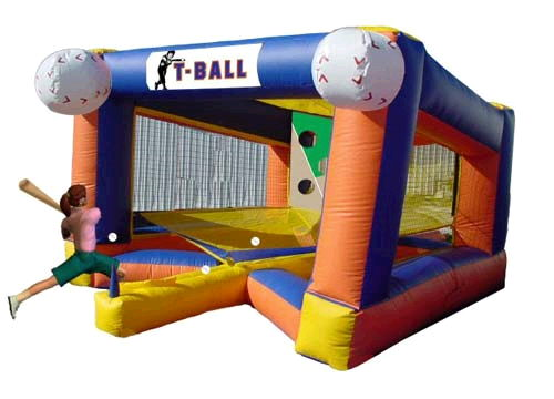 Where to find INFLATABLE T-BALL GAME in Pipersville