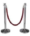 Rental store for STANCHION ROPE  RED in Pipersville PA