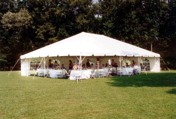 Where to find Frame Tent  professionally installed in Pipersville
