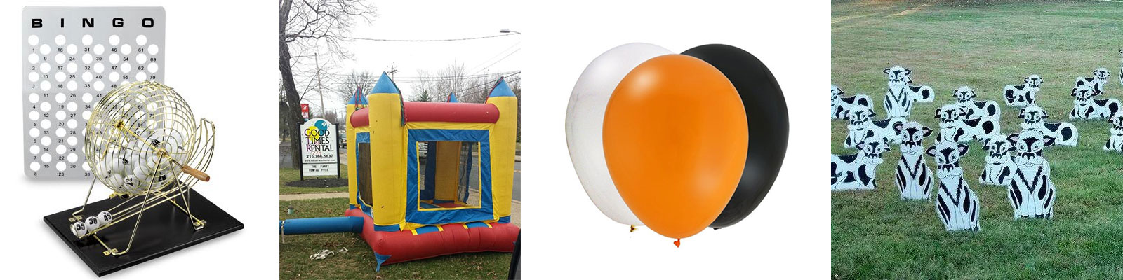 Party rentals in Bucks and Montgomery Counties