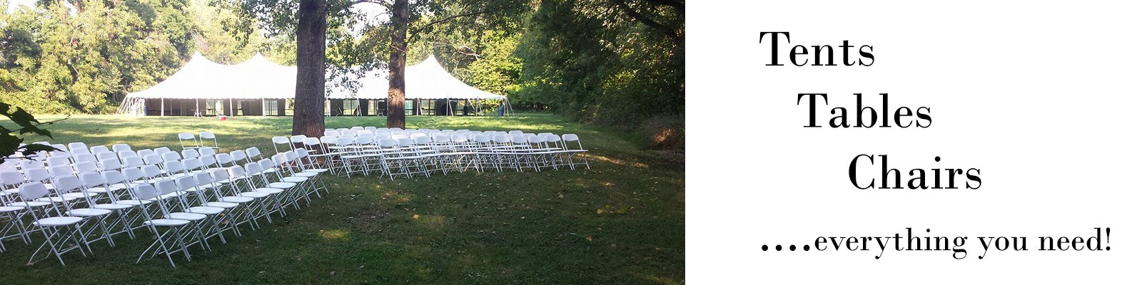 Tent rentals in Bucks and Montgomery Counties